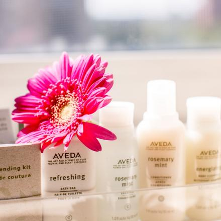 Lord Nelson Hotel & Suites Aveda Spa Amenities