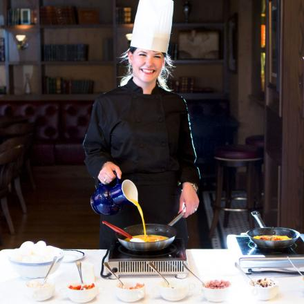 Lord Nelson Hotel & Suites Omelette Station Chef